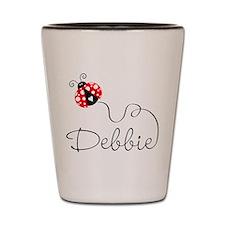 Ladybug Debbie Shot Glass