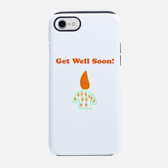 Cute Get Well Soon 4Celeste iPhone 7 Tough Case