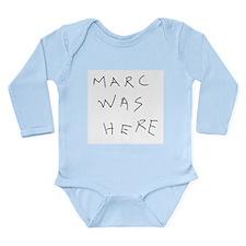 Marc Was Here Onesie Romper Suit