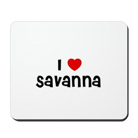 I * Savanna Mousepad