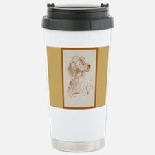 English Setter Stainless Steel Travel Mug