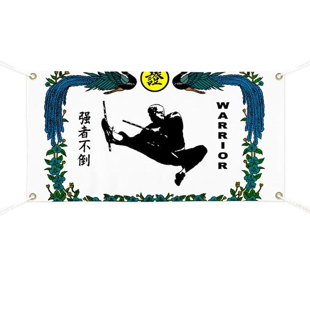 Warrior kanji banner by ambassadorma