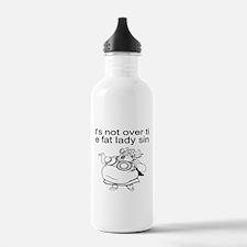 Fat lady sings Water Bottle
