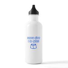 Sorry Girls Water Bottle