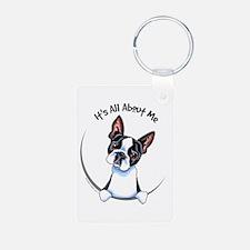 Boston Terrier IAAM Keychains