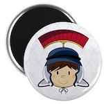 """Cute Roman Soldier 2.25"""" Magnet (10 Pk)"""