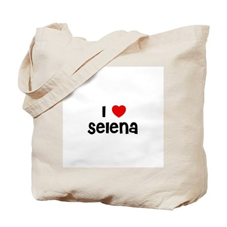 I * Selena Tote Bag
