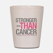 Stronger Than Cancer Breast C Shot Glass