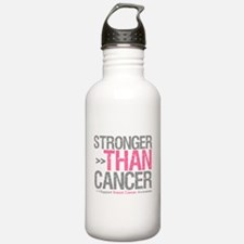 Stronger Than Cancer Breast C Water Bottle