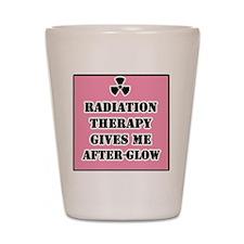 Radiation Therapy Shot Glass
