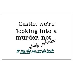 Castle: Murder and Dirty Photos Posters