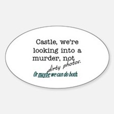 Castle: Murder and Dirty Photos Decal