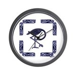 The Celtic Crane Wall Clock
