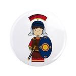 "Cute Little Roman Soldier 3.5"" Button (100 Pk"
