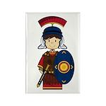Cute Little Roman Soldier Magnet (10 PK)