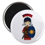 "Cute Little Roman Soldier 2.25"" Magnet (10 Pk"
