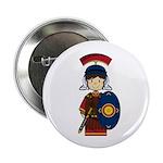 """Cute Little Roman Soldier 2.25"""" Button (100 P"""
