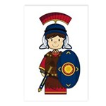 Cute Little Roman Soldier Postcards (Pk of 8)