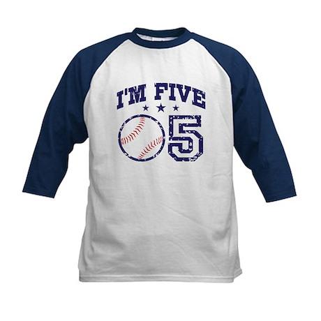Five Year Old Baseball Kids Baseball Jersey