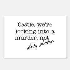 Castle: Not Dirty Photos Postcards (Package of 8)