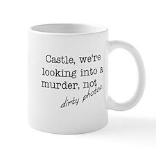 Castle: Not Dirty Photos Mug