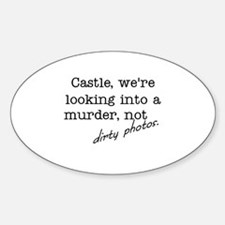 Castle: Not Dirty Photos Decal
