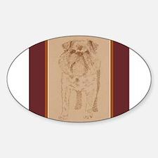 Brussels Griffon Sticker (Oval)
