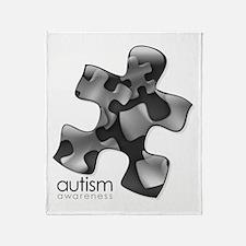 PuzzlesPuzzle (Black) Throw Blanket