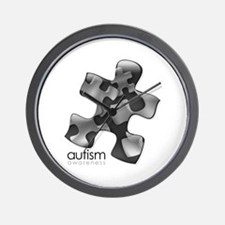 PuzzlesPuzzle (Black) Wall Clock