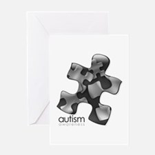 PuzzlesPuzzle (Black) Greeting Card
