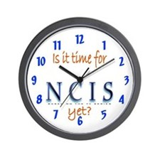 Time for NCIS? Wall Clock