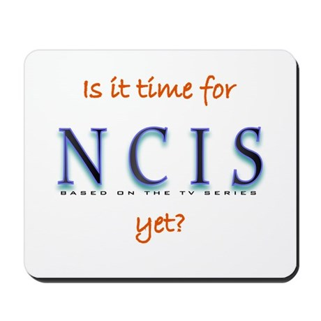 Time for NCIS? Mousepad