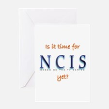 Time for NCIS? Greeting Card