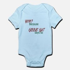 NCIS: Gibbs' Gut Infant Bodysuit