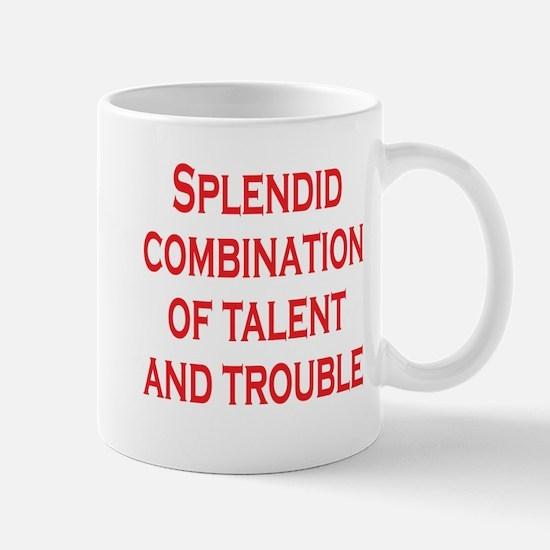 Talent and Trouble Mug