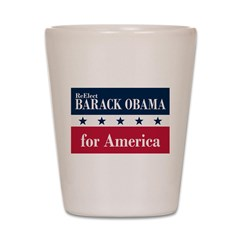 Barack Obama for America Shot Glass