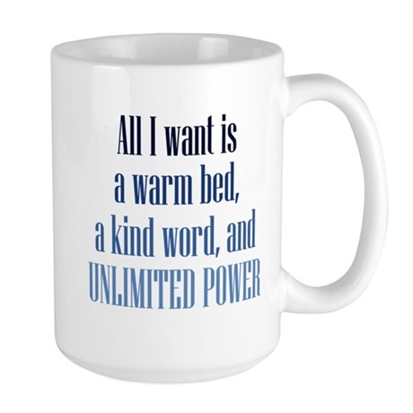 Unlimited Power Large Mug