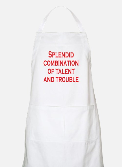 Talent and Trouble Apron