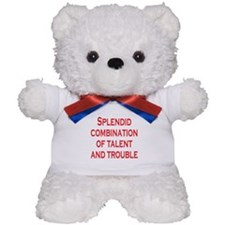 Talent and Trouble Teddy Bear
