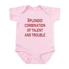 Talent and Trouble Infant Bodysuit