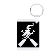 Funny The dragon boat Keychains