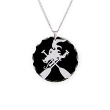 Funny Dragon boat paddle Necklace