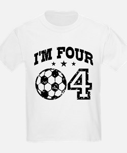Four Year Old Soccer T-Shirt