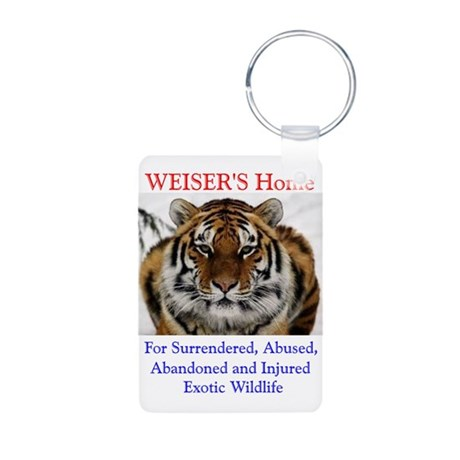 WEISER'S Home Aluminum Photo Keychain
