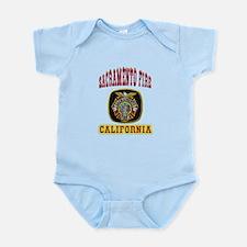 Sacramento Fire Department Infant Bodysuit