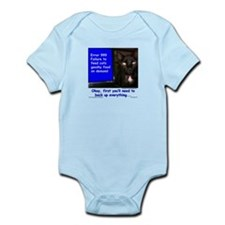Cat Blue Screen Infant Bodysuit