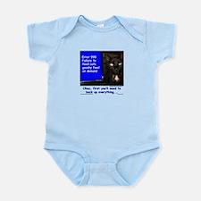 Cat Blue Screen Infant Bodysuit