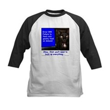 Cat Blue Screen Tee