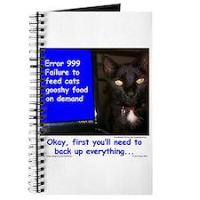 Cat Blue Screen Journal
