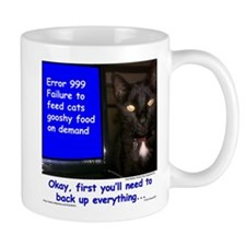 Cat Blue Screen Mug